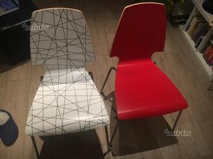 Sedie Rosse Ikea : Sedie ikea rosse posot class