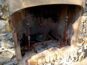 Alari in ferro battuto e fermacenere