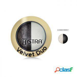 Astra ombretto velvet duo 01 smoky perfect