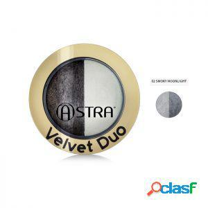 Astra ombretto velvet duo 02 smoky moonlight