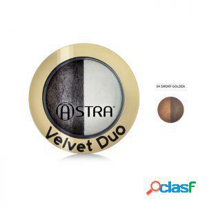 Astra ombretto velvet duo 04 smoky goldea