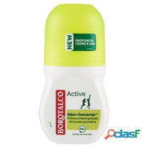 Borotalco deodorante roll on active 50 ml