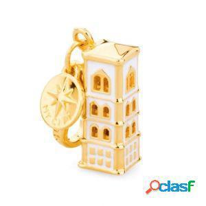 Charm rosato rci028 donna my city campanile