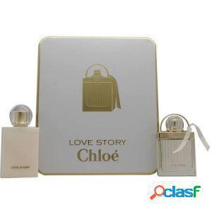 Chloe love story confezione regalo 50ml edp + 100ml lozione