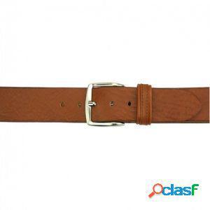 Cintura elio 40 mm cuoio/110 cm made in italy produzione di