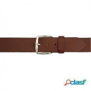 Cintura elio 40 mm marrone/120 cm made in italy produzione