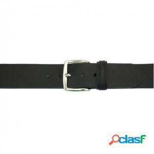 Cintura elio 40 mm nero/120 cm made in italy produzione di