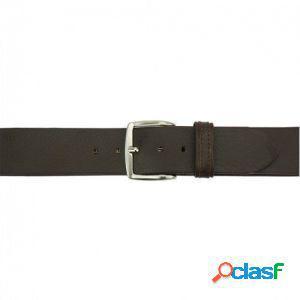 Cintura elio 40 mm testa di moro/120 cm made in italy