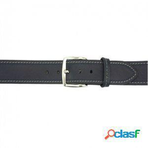 Cintura remo 40 mm blu scuro/110 cm made in italy produzione