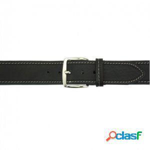 Cintura remo 40 mm nero/115 cm made in italy produzione di