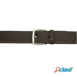 Cintura remo 40 mm testa di moro/110 cm made in italy