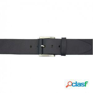 Cintura saverio 40 mm blu scuro/110 cm made in italy