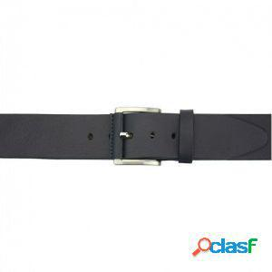 Cintura saverio 40 mm blu scuro/125 cm made in italy