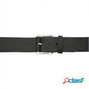 Cintura saverio 40 mm nero/115 cm made in italy produzione