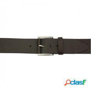 Cintura saverio 40 mm testa di moro/120 cm made in italy