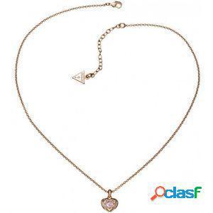 Collana donna guess ubn21564 rose gold