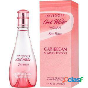 Davidoff cool water woman sea rose caribbean summer edition