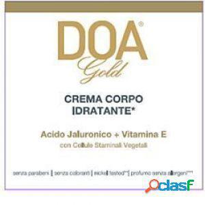 Doa gold crema corpo dermoelastica