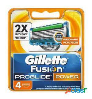 Gillette fusion lame di ricambio per rasoio proglide power 1
