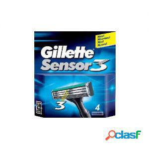 Gillette lame di ricambio per rasoio sensor 3 1 confezione