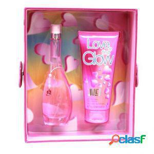 Jennifer lopez love at first glow confezione regalo 30ml edt