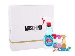 Moschino fresh couture set regalo kit eau de toilette 50 ml
