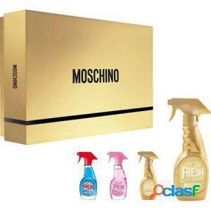 Moschino gold fresh couture cofanetto regalo kit gold fresh
