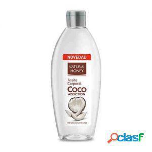 Natural honey olio corpo cocco 300