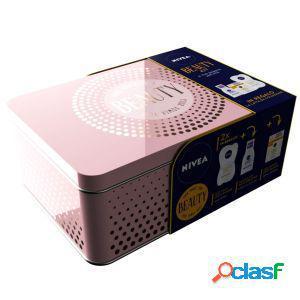 Nivea beauty kit q10 crema antirughe giorno 50 ml + maschera