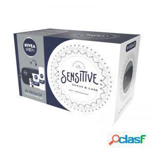 Nivea men sensitive shave & care kit cofanetto regalo