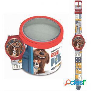 Orologio disney 504116 bambino pets - tin box
