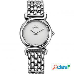 Orologio donna vetta charme vw0127 bracciale acciaio vetro