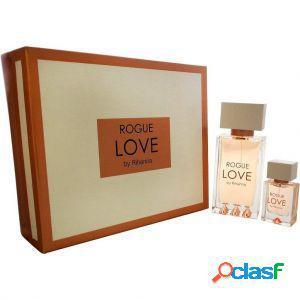 Rihanna rogue love confezione regalo 125 ml edp + 15 ml edp