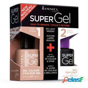 Rimmel super gel duo pack offerta speciale n.012 soul