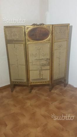 Separe' a tre pannelli in stile neoclassico