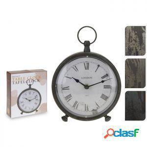 Sinsin - orologio sveglia tondo 16,5 cm colori assortiti