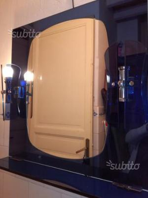 Specchio da bagno con 4 punti luce
