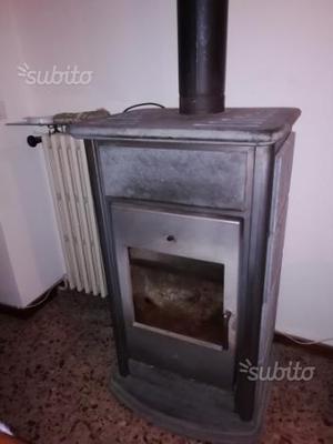 Vendo stufa a legna ventilata comune nascosto posot class - Radiatore per stufa a legna ...