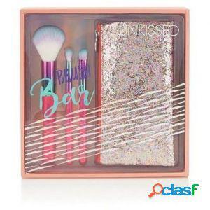 Sunkissed brush bar set regalo 3 pennelli make up + pochette
