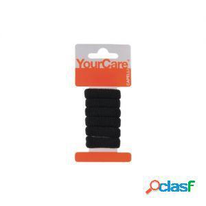 Your care elastici neri piccoli 12 pz