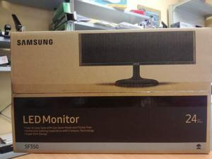 "Monitor samsung led 24"" hdmi s24f350fhu full hd nero nuovo"