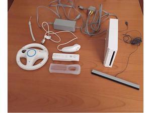 Nintendo wii con volante giochi e accessori