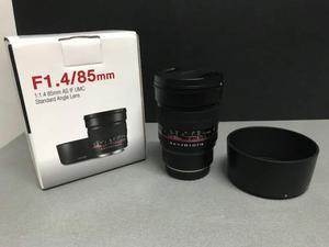 Samyang 85mm F/1.4 AS IF UMC- Fuji X - Usato