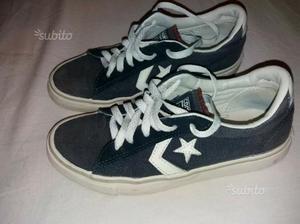 Scarpe converse sneakers basse ben tenute