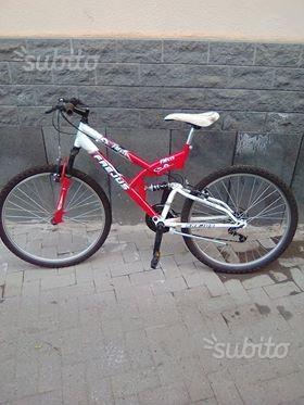 Bici Mtb Frejus biammortizzata misura 26