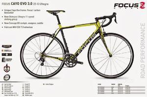 Bici da corsa focus cayo