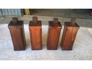 Piedi in legno massello per cassapanca como' credenza
