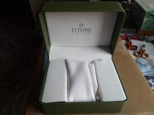 Scatola Titoni per orologio originale