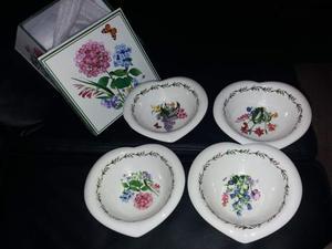 Set 4 coppe in porcellana