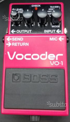 Boss vocoder v01